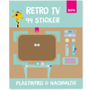 Bild: Badala Sticker Set Retro TV