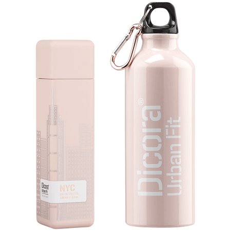 Dicora Duftbox Urban Fit NYC mit Trinkflasche Eau de Toilette (EdT)