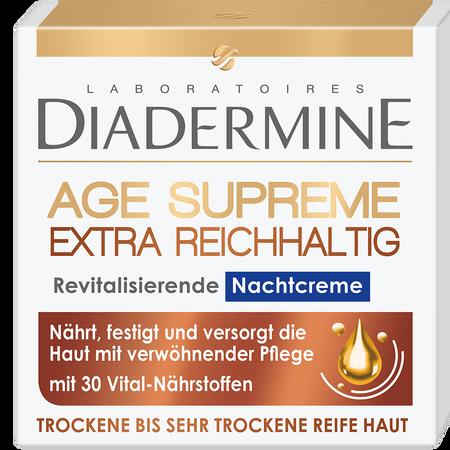 DIADERMINE Age Supreme Extra Reichhaltig Nachtcreme