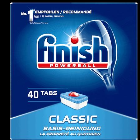finish Powerball Classic Basis-Reinigung Geschirrspültabs