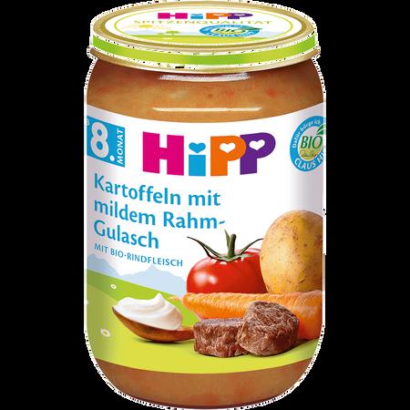 HiPP Kartoffeln mit mildem Rahmgulasch