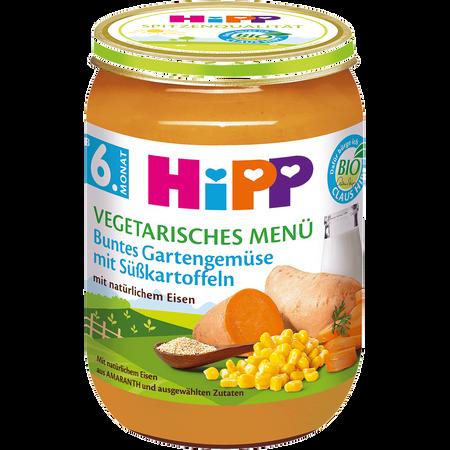 HiPP Buntes Gartengemüse m. Süßkartoffeln