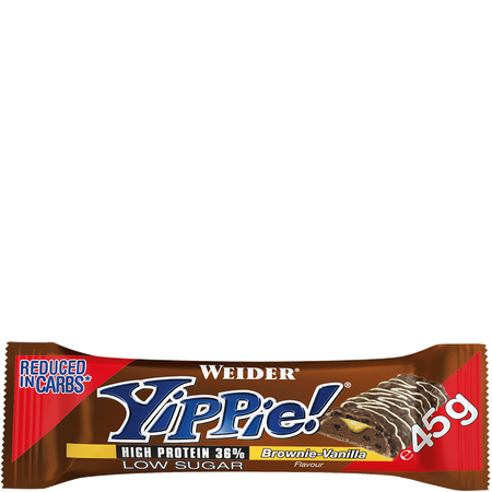 WEIDER Yippie Bar Brownie Vanilla