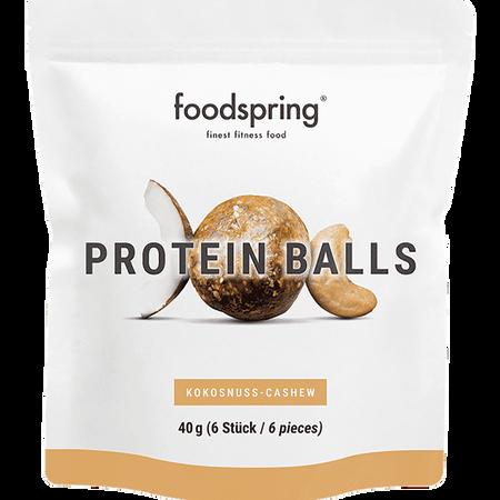 foodspring Protein Balls Kokosnuss