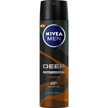 NIVEA MEN Deep Espresso Anti-Transpirant 48h
