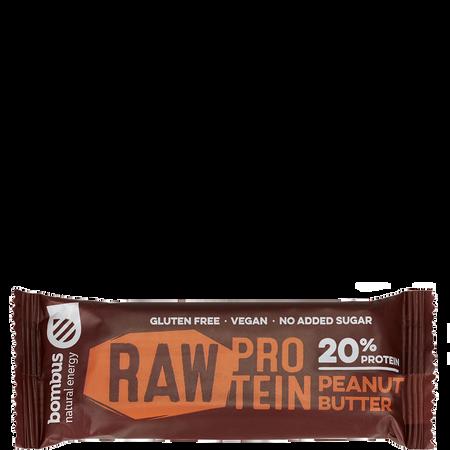 Bombus Raw Protein Bar Peanut Butter