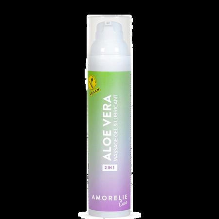 AMORELIE 2in1 Aloe Vera Massage- & Gleitgel