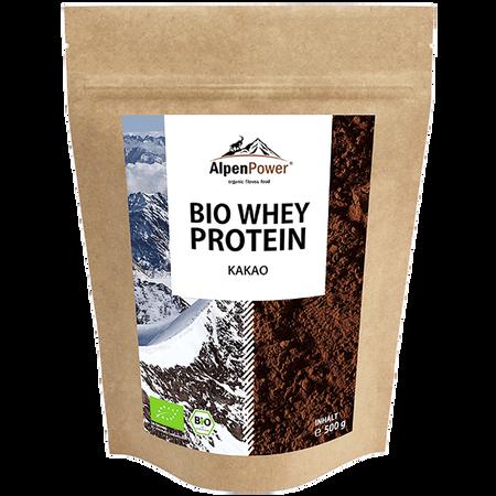AlpenPower Bio Whey Protein Kakao