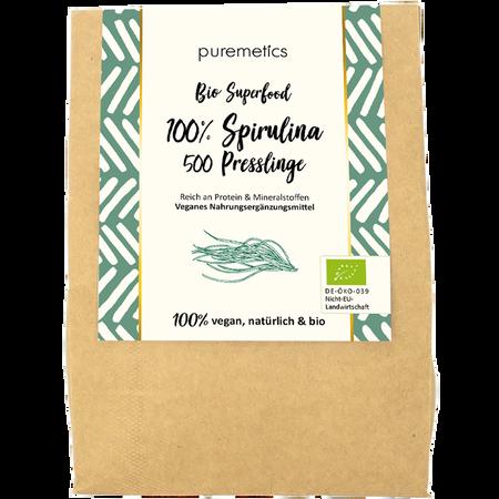 puremetics Bio Spirulina Tabletten Superfood