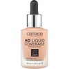 Bild: Catrice HD Liquid Coverage Foundation 40 warm beige