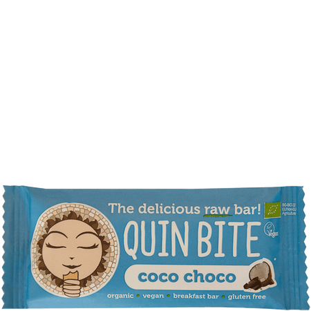QUIN BITE Coco Choco Raw Bar Riegel