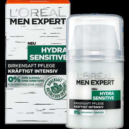 L'ORÉAL PARIS MEN EXPERT Hydra Sensitive Birkensaft Pflege