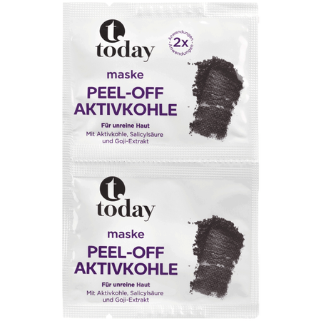 today Peel-off Aktivkohle Maske