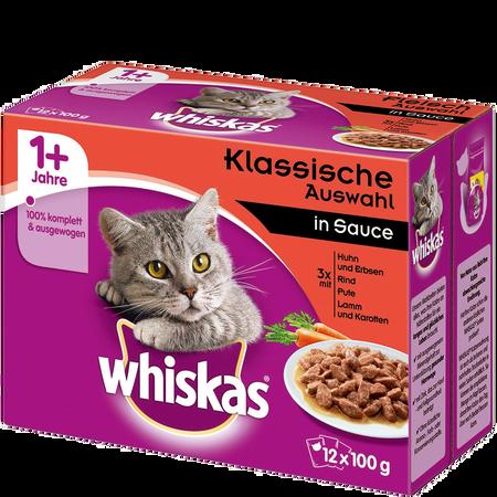 Whiskas Adult Frischebeutel herzhafte Auswahl