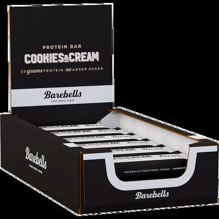 Barebells Cookies and Cream Riegel 12er Box