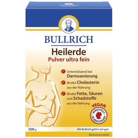 Bullrich Heilerde Pulver ultra fein