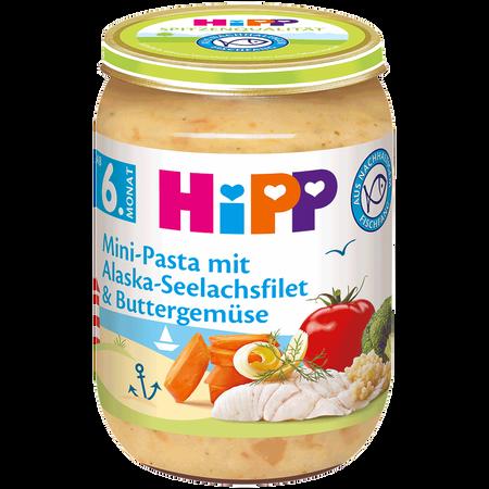 HiPP Minipasta Seelachs