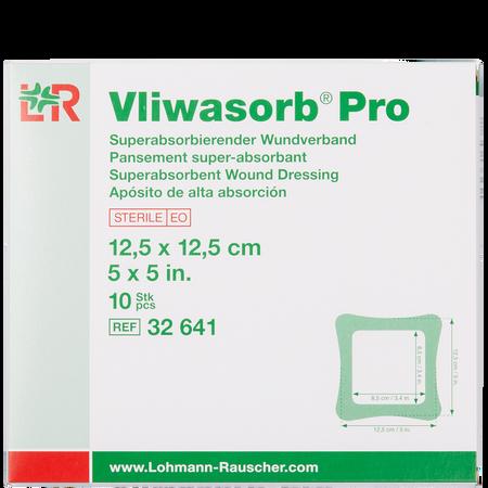 LOHMANN & RAUSCHER Vliwasorb® Pro Superabsorbierender Wundverband 12,5 x 12,5 cm