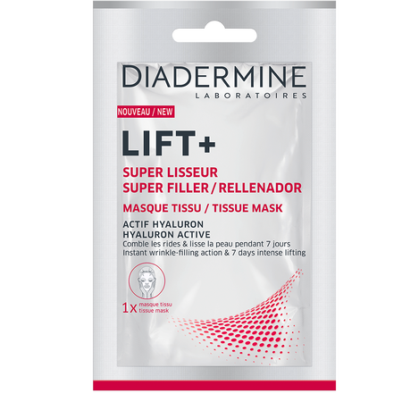 DIADERMINE LIFT+ Super Filler Tuchmaske