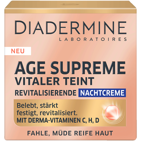 DIADERMINE Age Supreme Vitaler Teint revitalisierende Nachtcreme