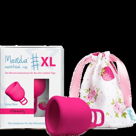 Merula Merula Cup XL strawberry Menstruationstasse