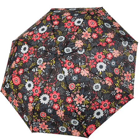 doppler Mini Regenschirm Blumenmuster