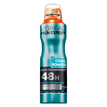 L'ORÉAL PARIS MEN EXPERT Cool Power Deo Spray