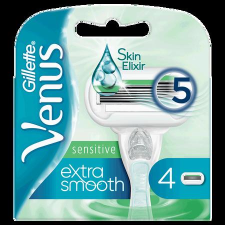 Gillette Venus Extra Smooth sensitive Rasierklingen