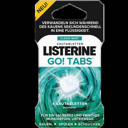 LISTERINE Go! Tabs Kautabletten