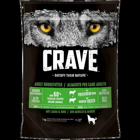 CRAVE Adult Lamm & Rind Trockenfutter