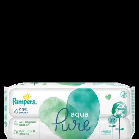Pampers Feuchttücher Aqua Doppelpackung