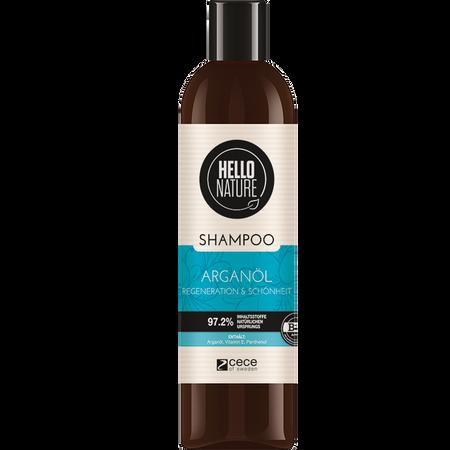HELLO NATURE Shampoo ARGANÖL Regeneration & Schönheit