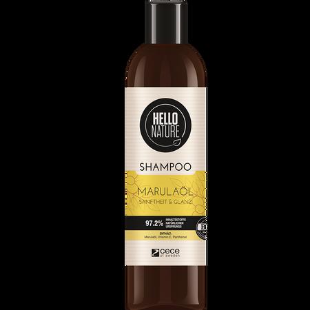 HELLO NATURE Shampoo MARULAÖL Sanftheit & Glanz