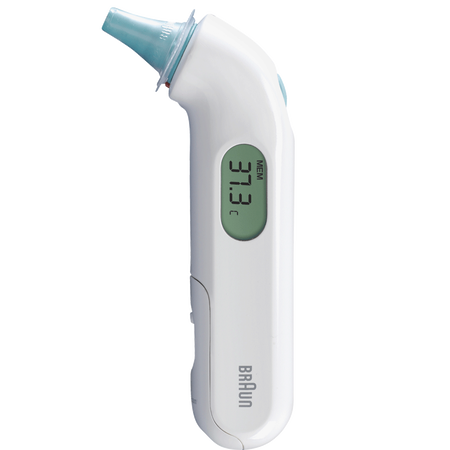 Braun IRT3030WE ThermoScan 3 Ohrthermometer