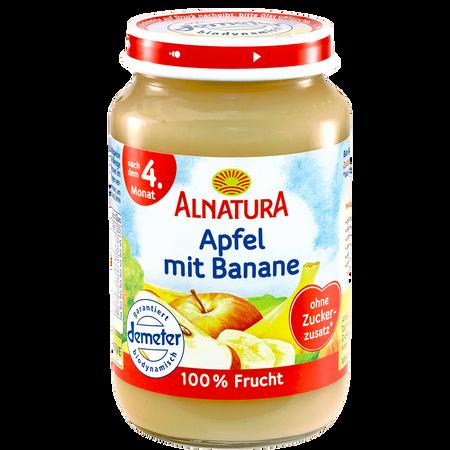 ALNATURA Apfel mit Banane