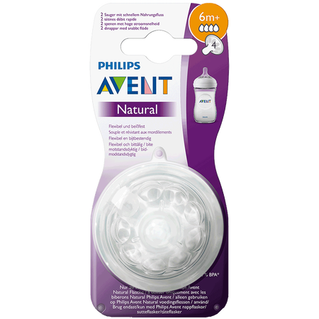 PHILIPS AVENT Sauger Naturnah, 6 Monate+
