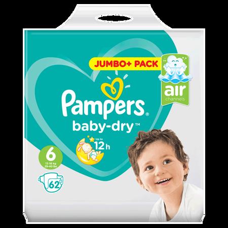 Pampers Baby-Dry Gr. 6 (13-18kg) Jumbo+ Pack
