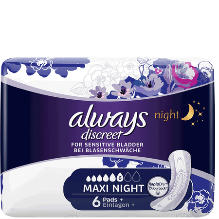 always discreet Binden Maxi Night