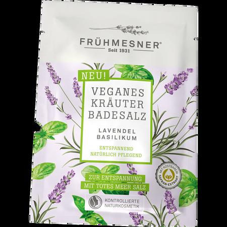 FRÜHMESNER Lavendel Basilikum Kräuter-Badesalz