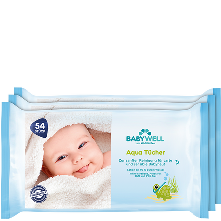 BABYWELL Aqua Tücher