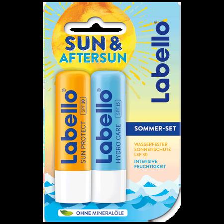 labello Lippenpflegestift Sun Duo Sommer Set