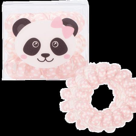 LOOK BY BIPA Spiral Zopfhalter rosa