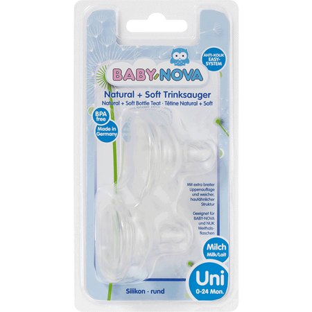 BABY-NOVA Weithalssauger Milch