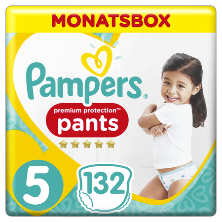 Pampers Premium Protection Pants Gr.5 Junior 12-17kg Monatsbox