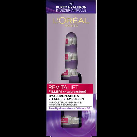 L'ORÉAL PARIS Revitalift Filler Hyaluron-Shots Ampullen