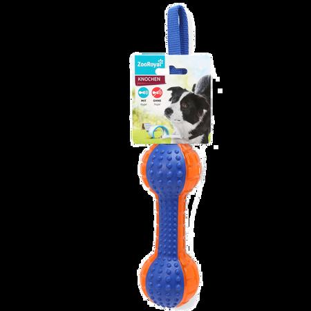 ZooRoyal Wurfknochen Push To Mute Hundespielzeug