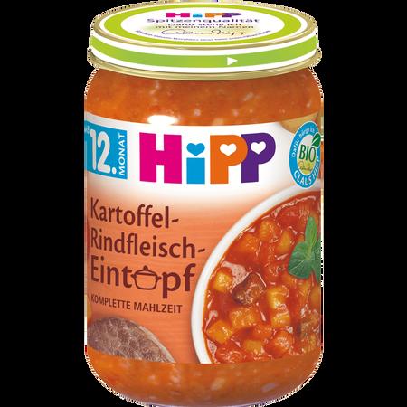 HiPP Kartoffel-Rindfleisch Eintopf