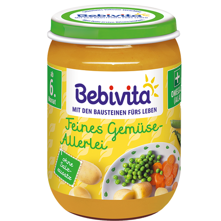 Bebivita Feines Gemüse-Allerlei