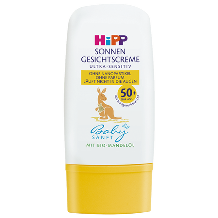 HiPP Babysanft Sonnengesichtscreme Ultra-Sensitiv LSF 50+