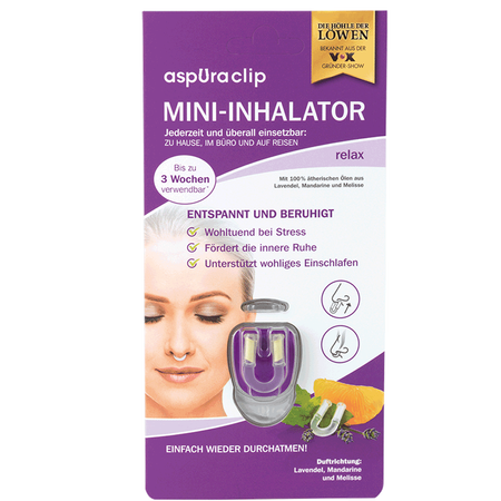 aspUraclip Mini-Inhalator relax